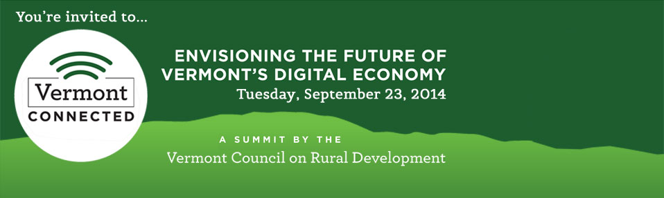 Register Now for our Vermont Connected Summit