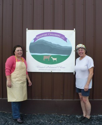 Nicki and Julie of Bridport Creamery