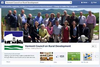 Vermont Digital Economy Project Facebook Donate