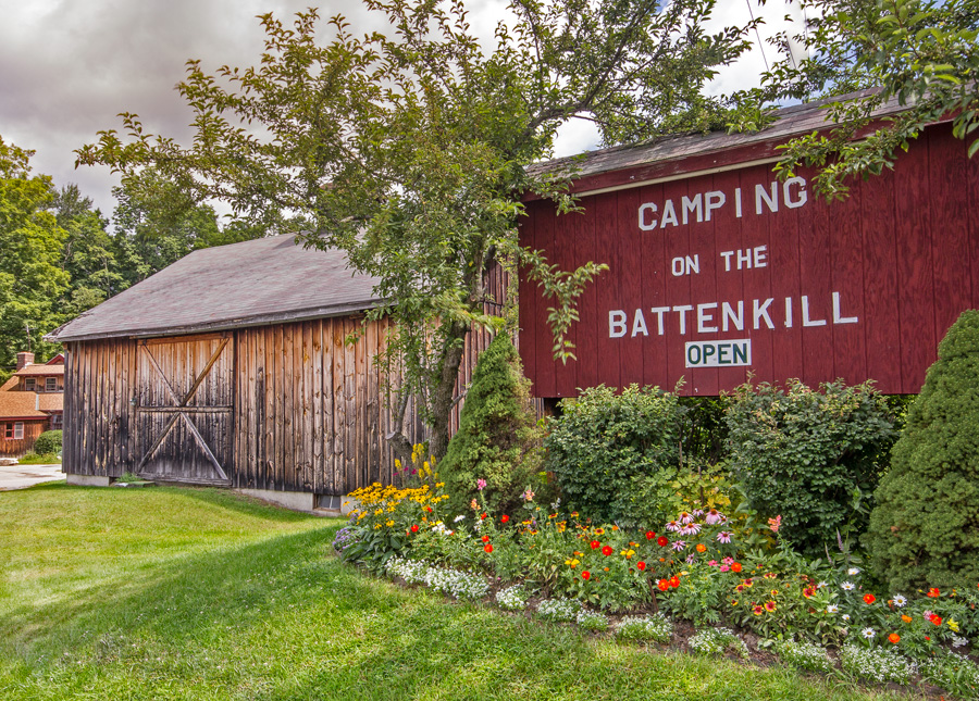 Camping on the Battenkill