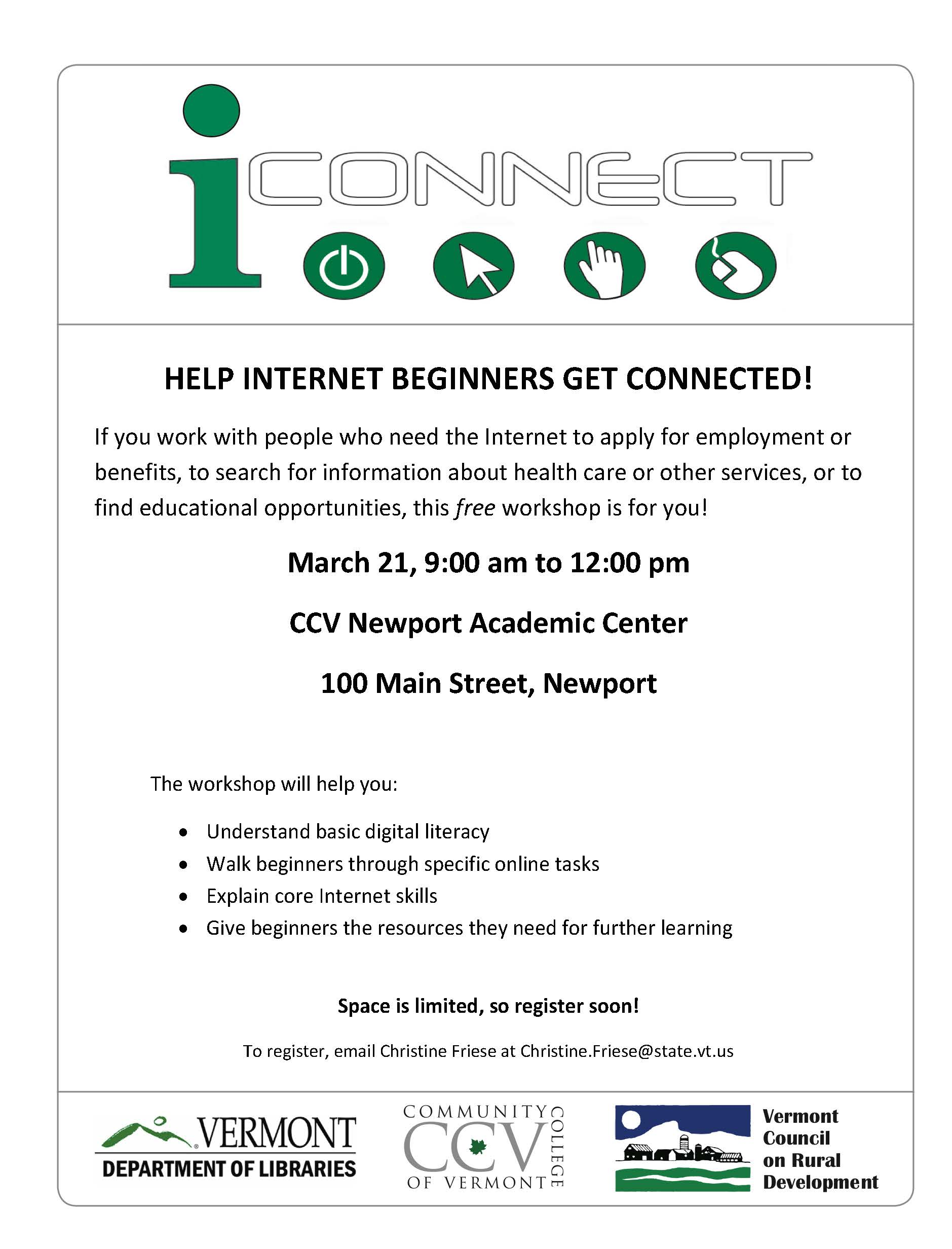 iConnect: Help Internet Beginners Get Connected!