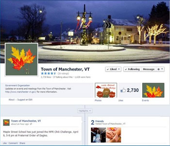 Manchester VT Facebook Page