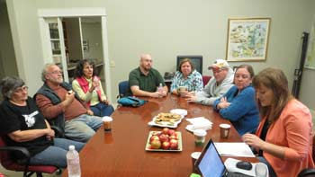 Community Website Discussion in Mendon