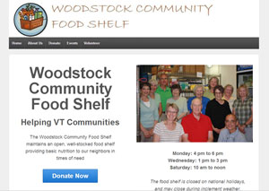 Woodstock Community Food Shelf Website