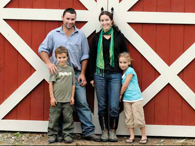The Waiora Valley Farm Family