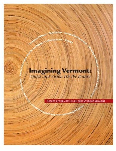 Imagining Vermont cover