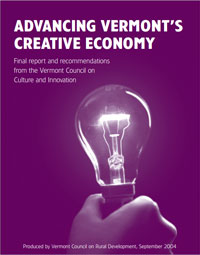 Read the Report: Advancing Vermont's Creative Economy
