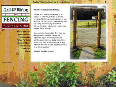 Gallop Brook Fencing image